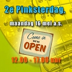 2e Pinksterdag is Amsterdam open