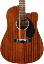 Fender CD60SCE All Mahogany