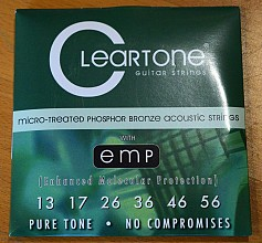 Cleartone 7413 Phosphor Bronze acoustic strings