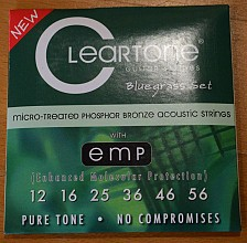 Cleartone 7423 Phosphor Bronze acoustic strings
