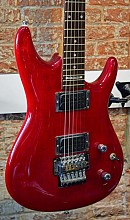 Ibanez JS100TR transparant red