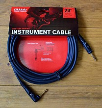 D'Addario PW-GRA-20 Custom Series Instrument Cable 6 mtr