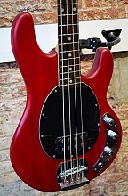 Sterling by Music Man SUB SR-4 Trans Red satin