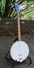 Recording King RKT-05 Dirty 30s Open Back Tenor Banjo