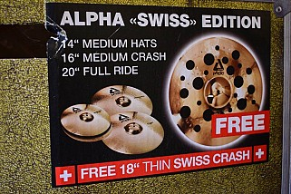 Paiste Alpha Swiss Edition PACK
