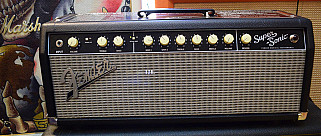 Fender Super-Sonic 22 Head Black
