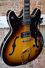 Hagstrom Viking hollow body tobacco sunburst
