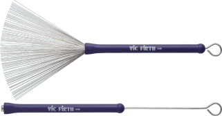 Vic Firth PVF HB Brushes Heritage staal