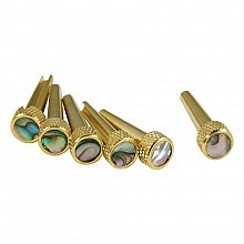 D'Andrea TONE PINS solid brass Abalone