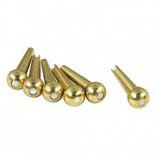 D'Andrea TONE PINS solid brass pearl dot