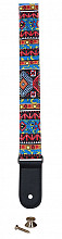 CLX ukulele strap graphic stripe