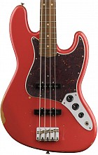 Fender Road Worn 60s Jazz Bass PF Fiesta Red