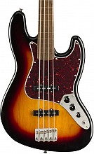 Squier Classic Vibe 60s Jazz Bass fretless LRL 3TS