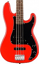 Squier Affinity Precision Bass PJ LRL Race Red