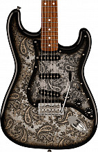 Fender Limited Black Paisley Stratocaster RW Black