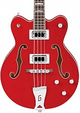 Gretsch G5442BDC Electromatic Hollow body Short scale Trans Red