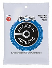 Martin MA540PK3 3-Pack Phosphor Bronze 12-54 strings