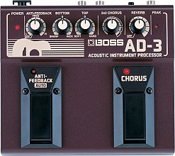 Boss AD3 Acoustic Instrument Processor