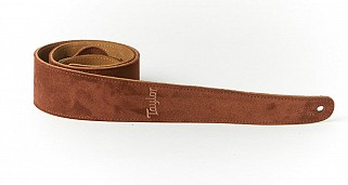 Taylor TS250-05 Chocolate Suede logo strap