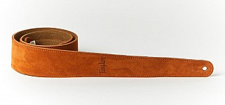 Taylor TS250-07 Gold Honey Suede logo strap