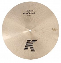 "Zildjian 16""K Custom Dark Crash"