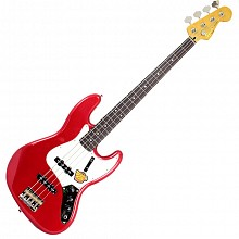 Squier Classic Vibe Jazz Bass 60s Candy apple red