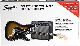 Squier Affinity Series Stratocaster Pack HSS BSB