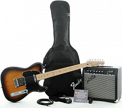 Squier Affinity Telecaster Frontman 15 Pack BSB