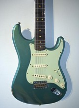 Fender LTD 1964 Strat Relic Aged Custom shop Green Metallic