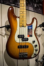 Fender American Elite Precision Tobacco Burst Bass