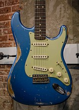 Fender Custom Shop 1960 Journeyman Relic DG Masterbuilt Stratocaster Lake Placid Blue