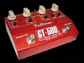 Fulltone GT500 Distortion Booster