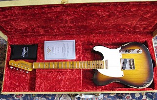 Fender 1952 Relic Telecaster 2 color sunburst