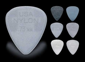 Plectrum Nylon 0.73mm, 10 stuks