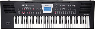 Roland BK3 black keyboard