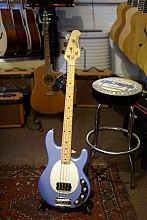 Musicman Stingray 4 Blue Front