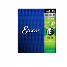 Elixir 19002 Electric NPS Optiweb Super Light 9-42 snarenset