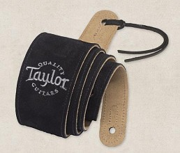 Taylor suede gitaar band Black