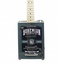 Bohemian Oil Can Guitar Moonshine