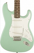 Squier Affinity Stratocaster RW Surf green