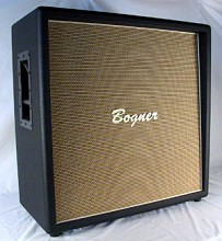 Bogner 4x12 Open Back Straight Cabinet