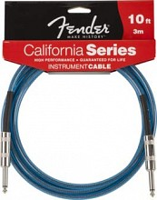 Fender California Series cable 10 Blue