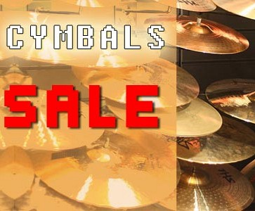 Cymbals showroom opruiming