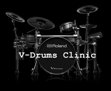 Roland V-Drums Clinic in Alkmaar