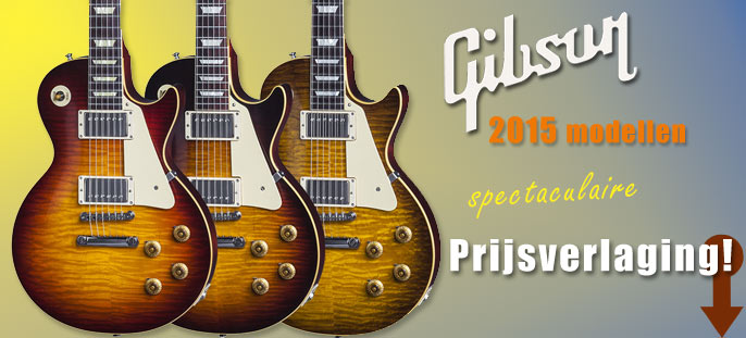 Price drop Gibson 2015