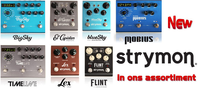 Strymon Boutique pedals