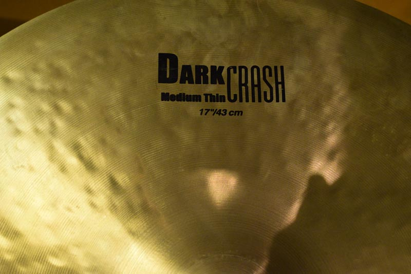 Zildjian 17 K Dark Crash Medium Thin