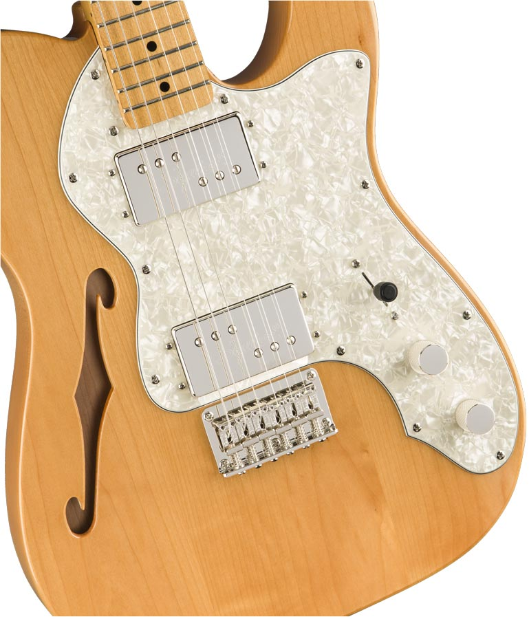 Squier Classic Vibe 70s Telecaster Thineline natural