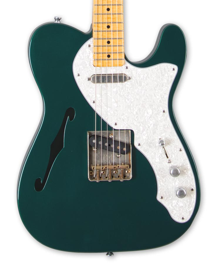 Maybach Teleman Thinline 68 Caddy Green Metallic Custom shop