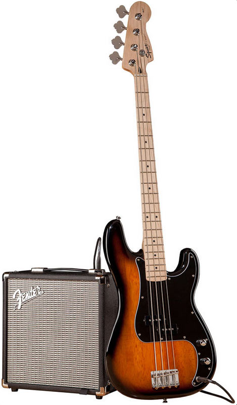 Squier Affinity P Bass pack Rumble 15